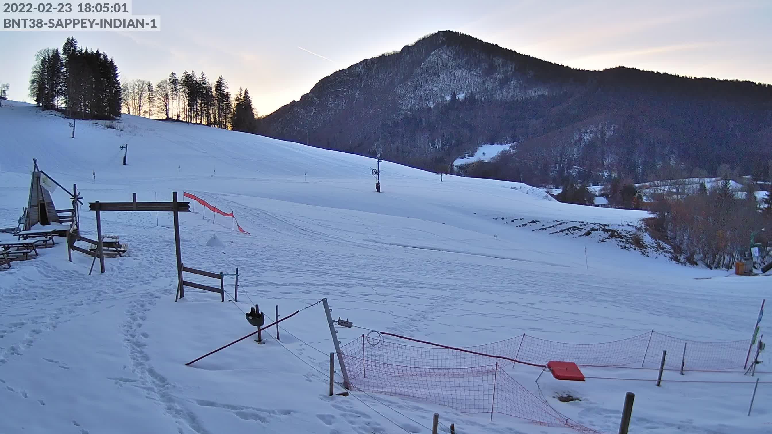 Webcam piste ski Sappey-en-Chartreuse